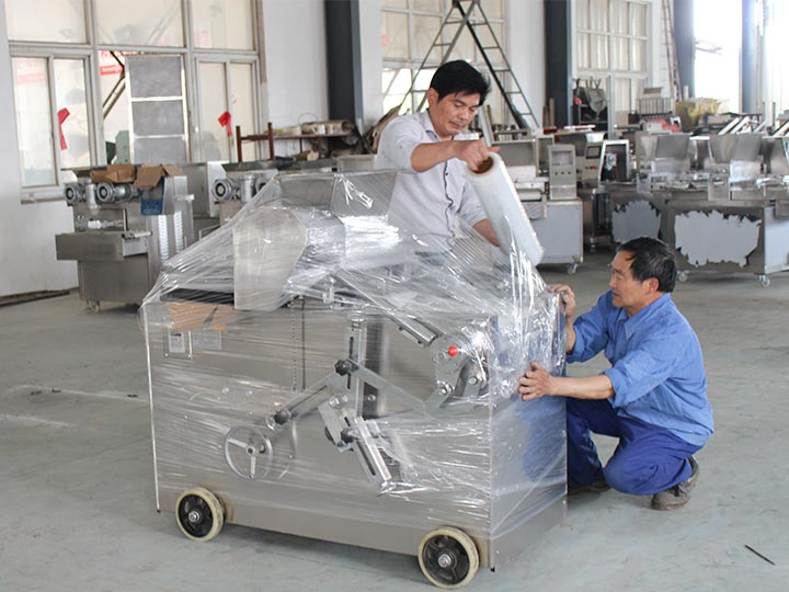 small cookie biscuit making machine for shipping to Japan