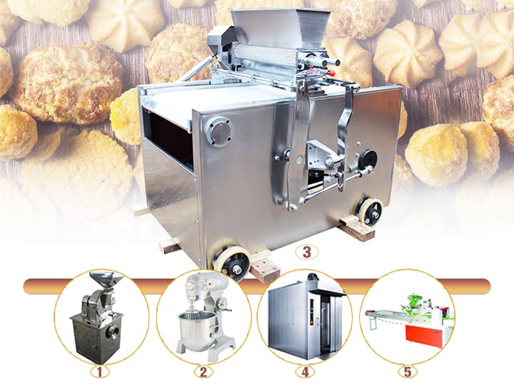 small cookie production line