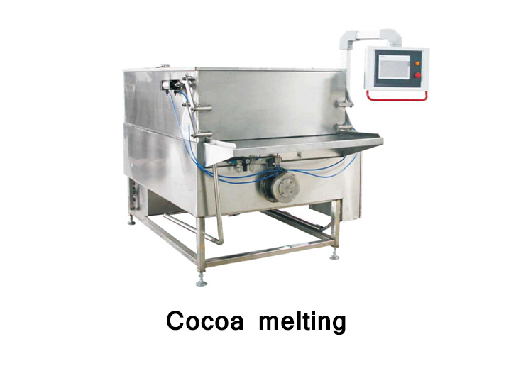 Cocoa melter