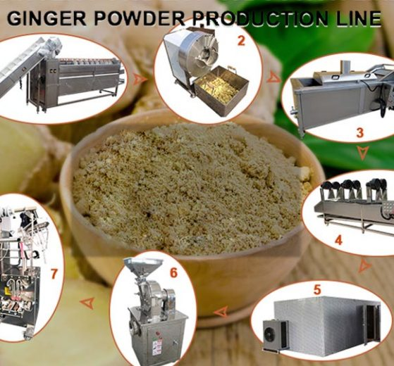 Cover-Ginger powder processing production line